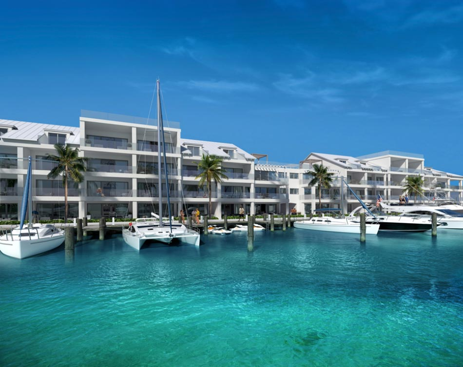 One Marina's proposed luxury condominiums and penthouse complex. The $100M development is in its pre-construction phase.